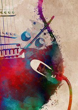 Gitaar 1 muziekkunst #gitaar #muziek van JBJart Justyna Jaszke