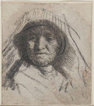 Rembrandts Mutter, Rembrandt van Rijn.