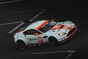 Aston Martin in actie op Spa-Francorchamps van