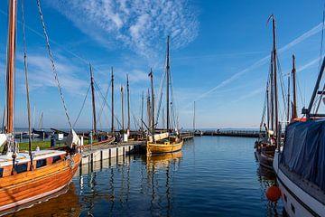 Hafen auf dem Fischland-Darß in Dierhagen von Rico Ködder