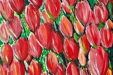 """""""Tulpis"""" im FLOW van Susanne A. Pasquay"""