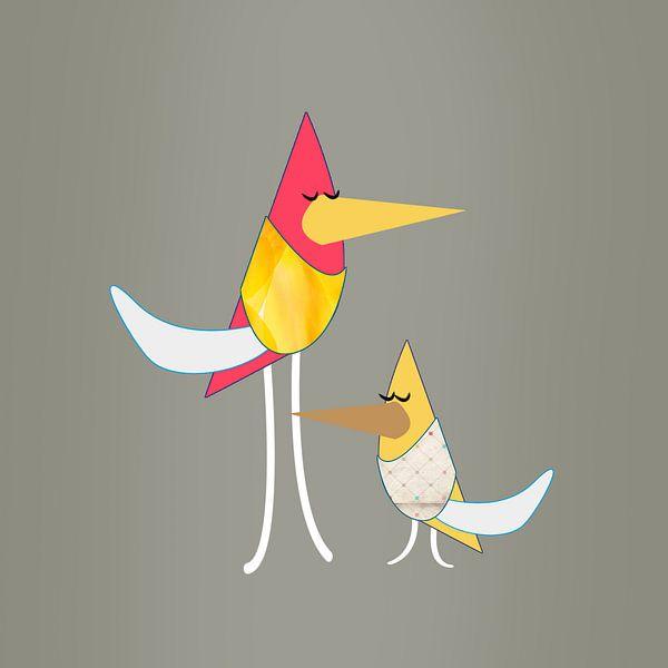 vogel van Nicole Roozendaal