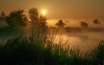 Sonnenaufgangs-Landschaftsaufnahme von natascha verbij