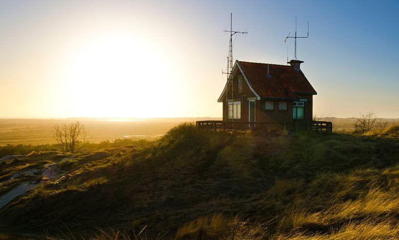 Radiohaus auf Terschelling von Cynthia Hasenbos