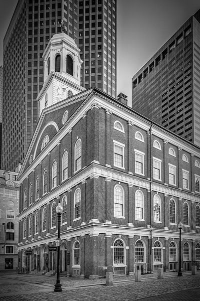 BOSTON Faneuil Hall | monochroom van Melanie Viola