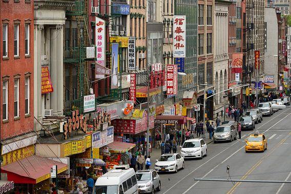 Chinatown in Manhattan New York