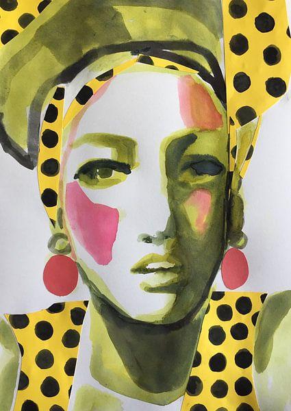 Die Punkte verbinden von Helia Tayebi Art