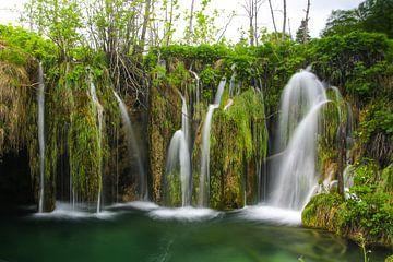 Plitvice meren Kroatie van Jennifer Hendriks