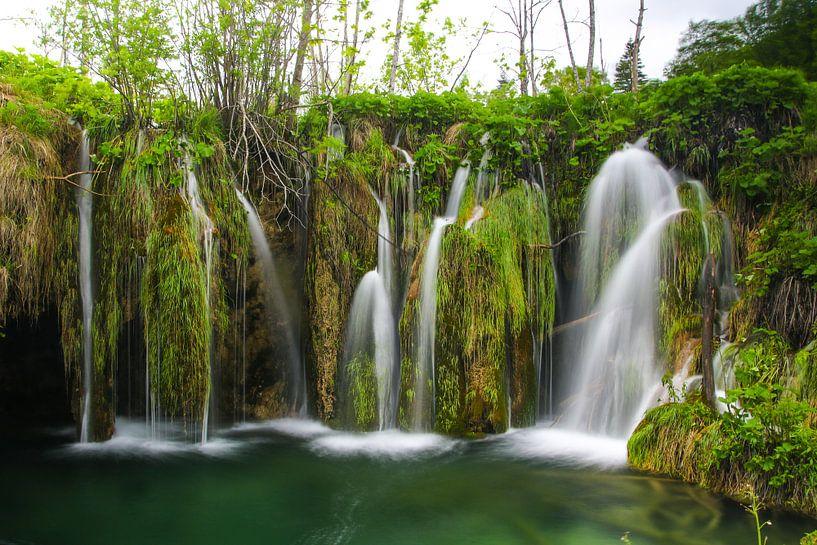 Plitvice lakes Croatie sur Jennifer Hendriks