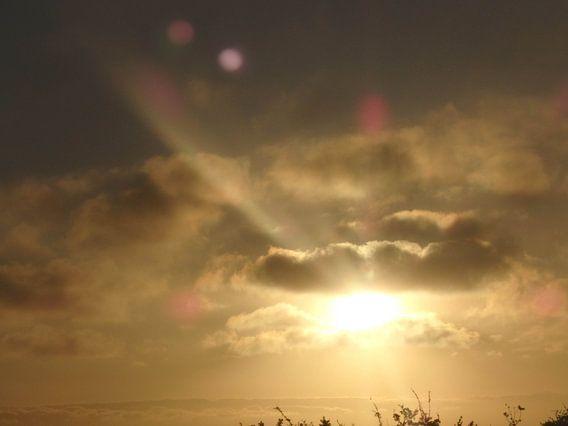 Zonsondergang van Robin van Tilborg