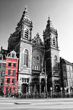 Basilika von Sankt Nikolaus in Amsterdam von Heleen van de Ven