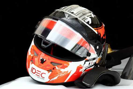 Racingdriver Helmet van MSP Photographics