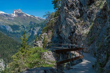 Bisse Torrent-Neuf, Zwitserland van Ingrid Aanen