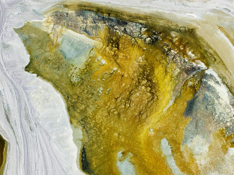 Colours of Water, Salton Sea van Marco van Middelkoop