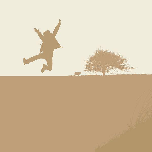 Springen von Henk Tijbosch