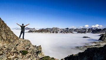 In den Bergen über den Wolken von Stijn Cleynhens