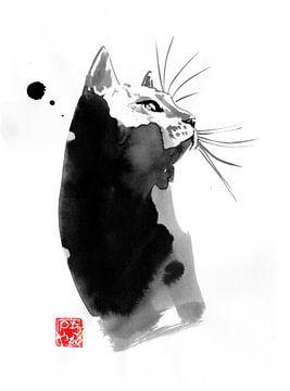 befleckte Katze von philippe imbert