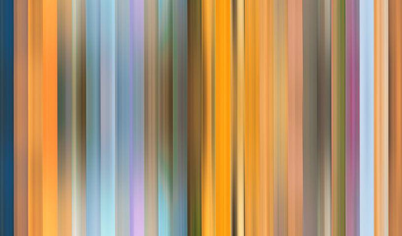 Palette de couleurs de la nature aux Pays-Bas sur Reina Nederland in kleur