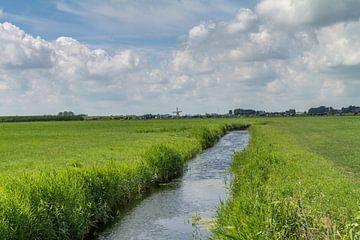 Friesland  landschap van Nicole Nagtegaal
