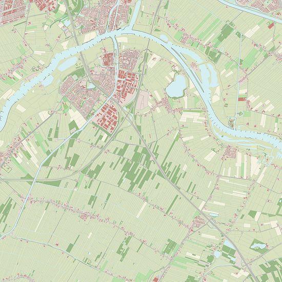 Kaart vanVianen