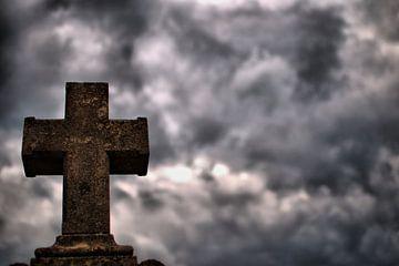 Eenzaam kruis (Lonely Cross) van Roelof Broekman