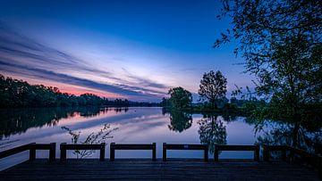 Ein schöner Sonnenaufgang im Naturpark Meinerswijk von Eddy Westdijk