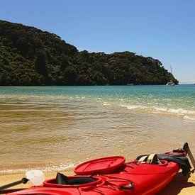 Kayak fahren im Abel Tasman National Park - Neuseeland von Shot it fotografie