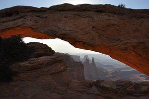 Canyonlands National Park Utah van