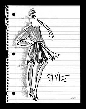 Doodle Stil, Anne Tavoletti von Wild Apple