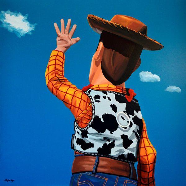 Woody of Toy Story schilderij van Paul Meijering