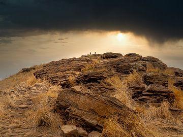 Indonesië - Lombok - Een spectaculaire zonsondergang van Rik Pijnenburg