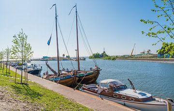 Hafen von Harderwijk von Ivo de Rooij