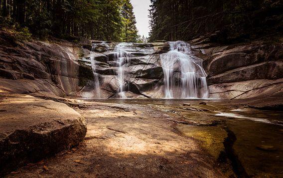 Wasserfall in der Tschechischen Republik
