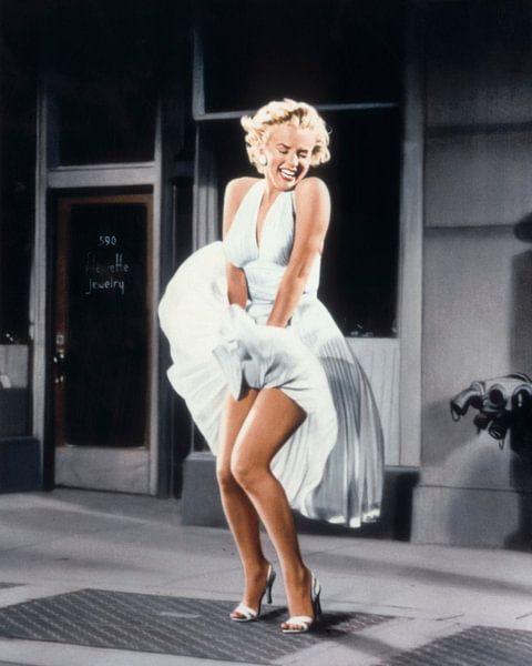 Marilyn Monroe im Siebenjahresjucken von Bridgeman Images