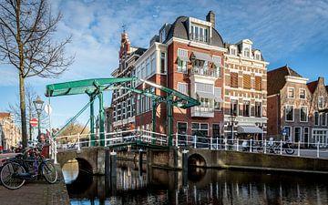Kerkbrug aan de Oude Rijn van
