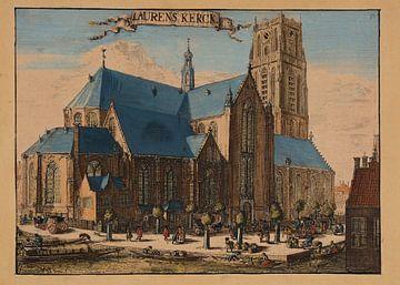 Rotterdam, 1695, Laurenskerk van Atelier Liesjes