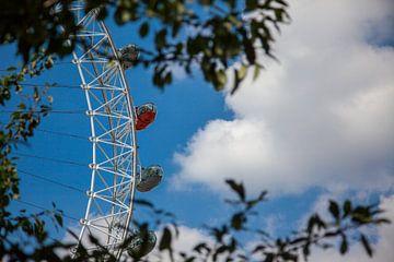 London Eye van Vincent van den Hurk