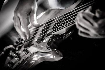 gitaar 3 van Margriet Cloudt