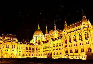Budapest by night van Karin leijen