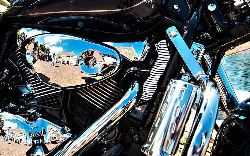 Motorcycles and Chrome van Brian Morgan