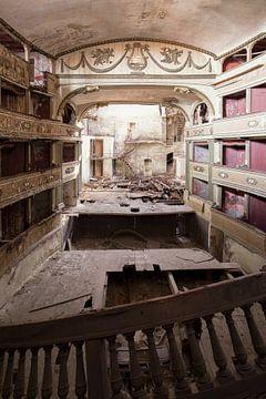 théâtre abandonné sur Kristof Ven