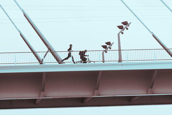 Erasmusbrug, Rotterdam van Rick Keus