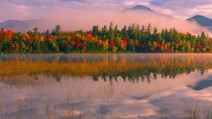 Connery Pond, Adirondacks State Park, USA