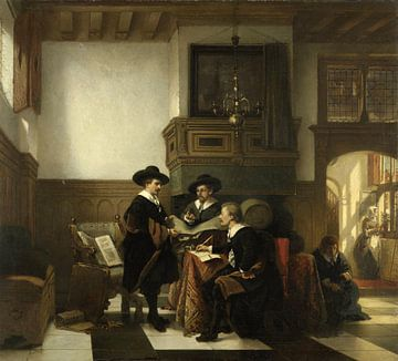 Das Syndikat der Leidse Saaihal, Johannes Stroebel