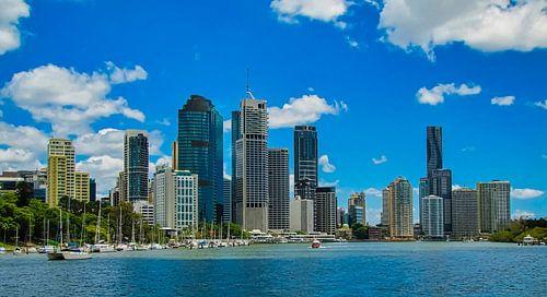 Skyline van Brisbane, Australie