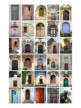 Collage aus Türen Teil 2 von Nicolette Vermeulen