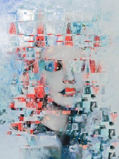 The beauty and the abstract art van Gabi Hampe