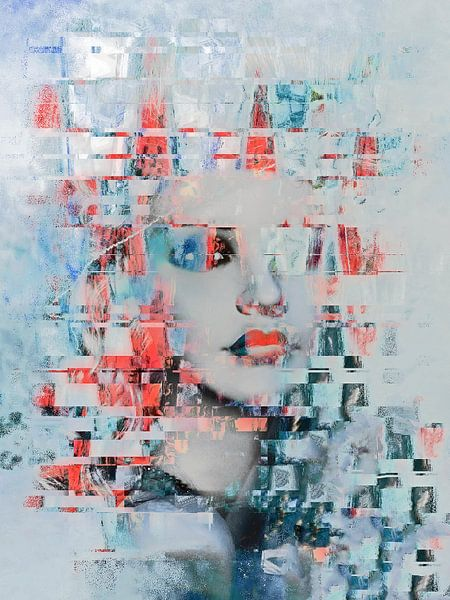 The beauty and the abstract art von Gabi Hampe