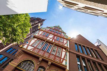 Nouvelle vieille ville de Francfort à Francfort-sur-le-Main sur Werner Dieterich