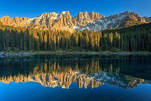 Lago di Carezza van